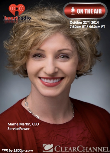 iHeart Radio Interview with Marne Martin