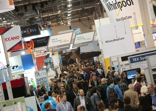 CES in a year became all about the Internet of Things | ServicePower | Innovating Field Service