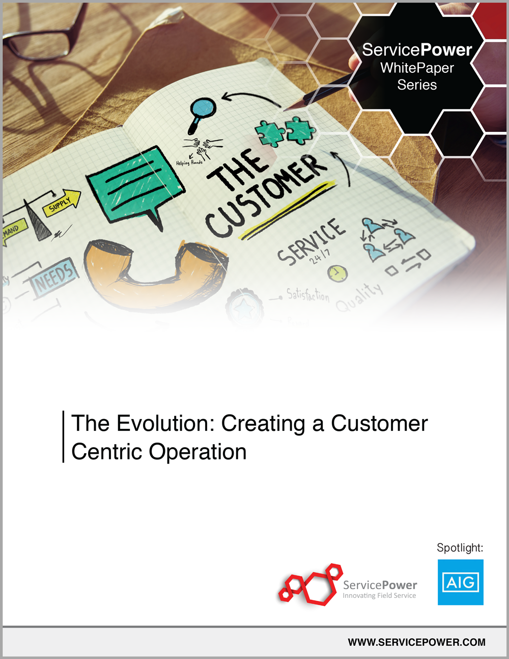Free Whitepaper - The Evolution: Creating a Customer-Centric Operation