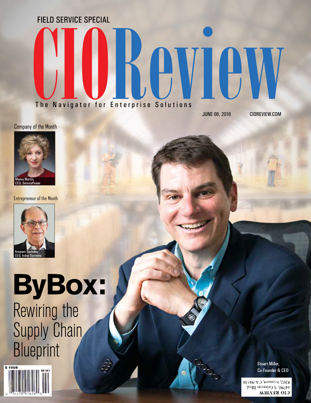 Free Edition of CIO Review - Mobile Workforce Management Made Simple