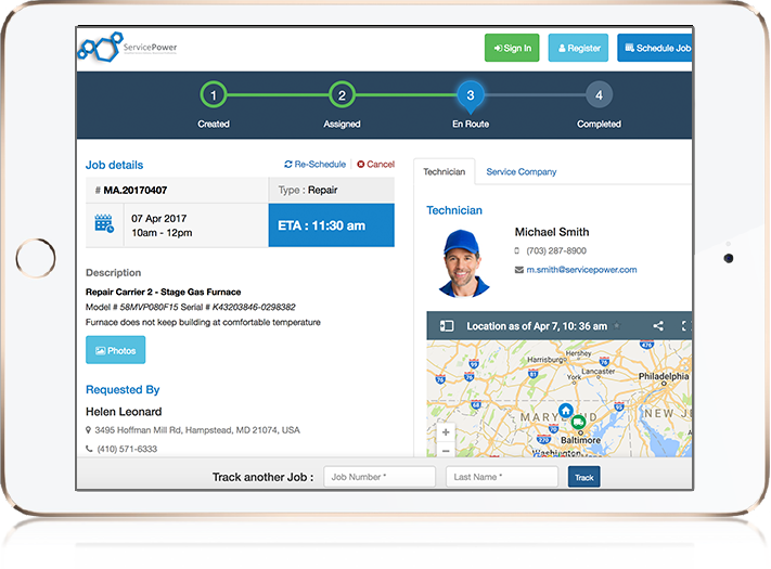 ServicePower - Field Service Management Solution