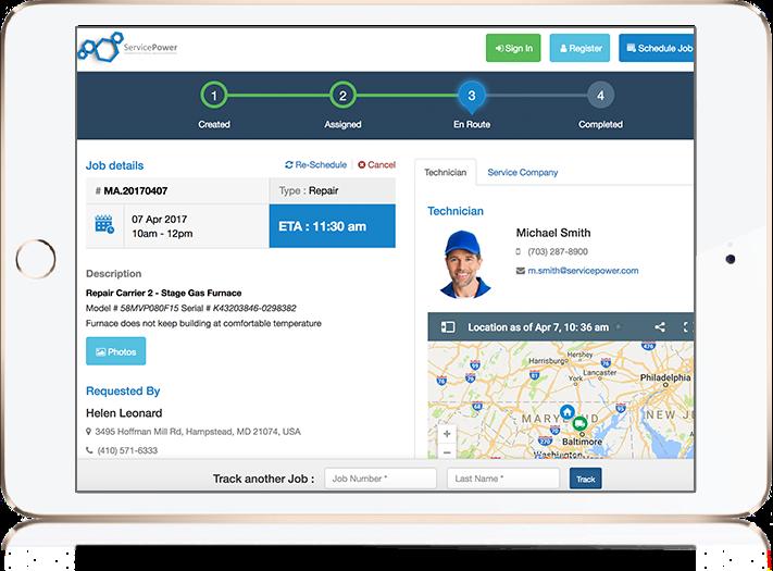 ServicePower - Field Service Management Solution