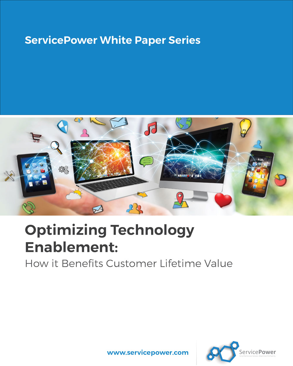 Free Whitepaper - Optimizing Technology Enablement: How it Benefits Customer Lifetime Value