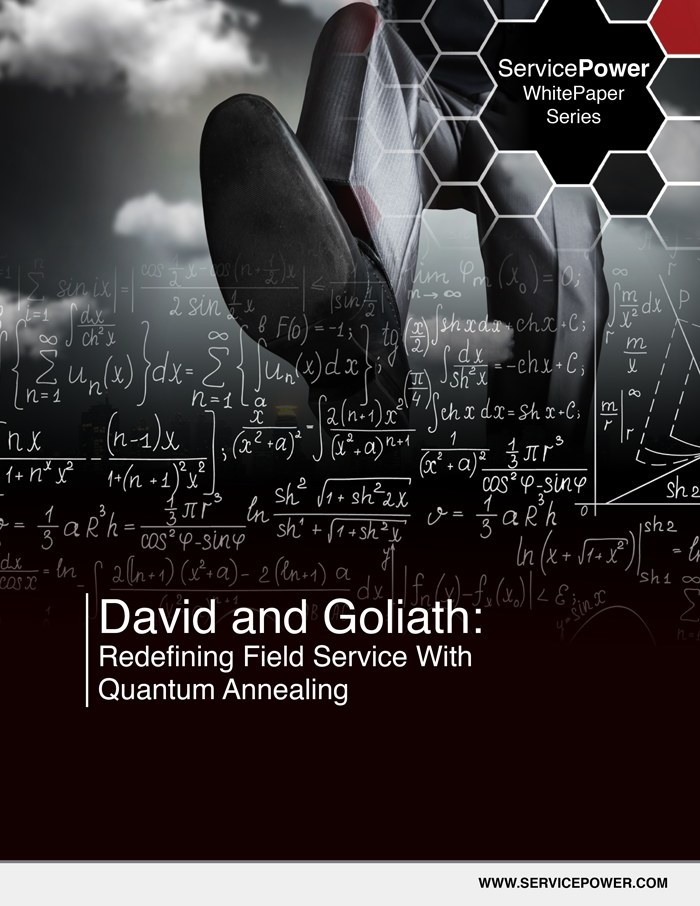 Free White Paper - David and Goliath: Redefining Field Service with Quantum Annealing