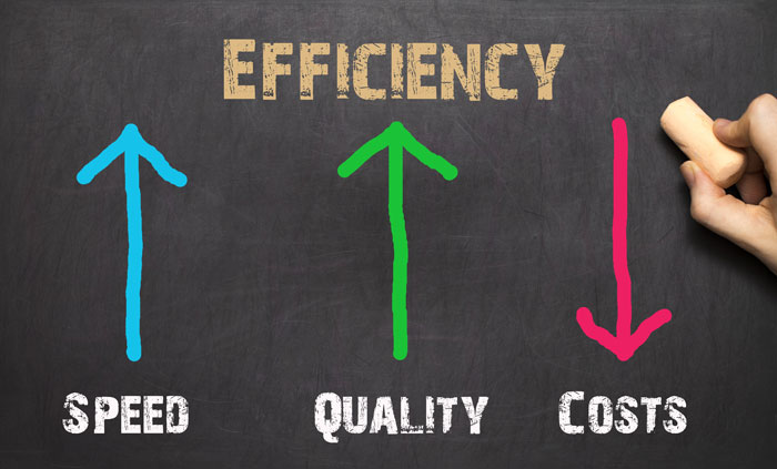 There's more to efficiency than operational cost savings