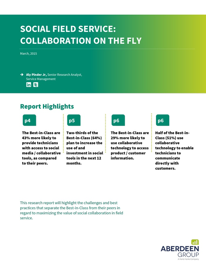 Social Field Service: Collaboration on the Fly