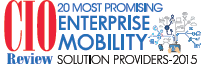Selected for 20 Most Promising Enterprise Mobility Solutions 2015 List | ServicePower | Innovating Field Service