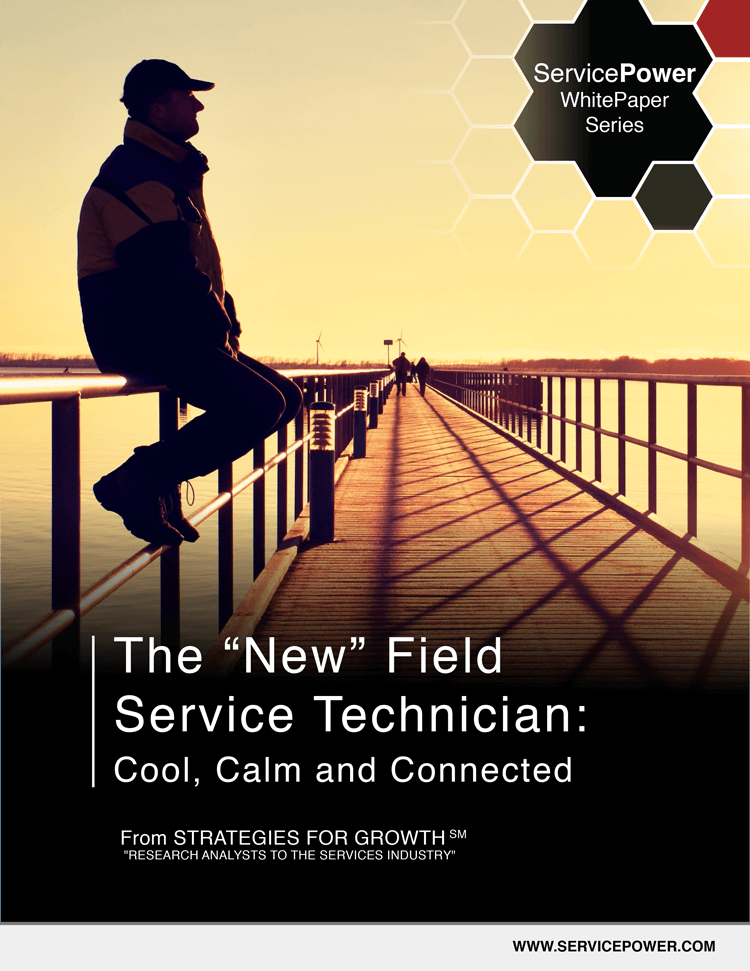 "Free White Paper! The ""New"" Field Service Technician: Cool Calm and Connected"