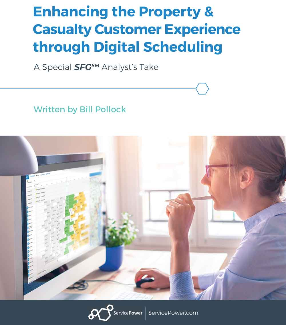 Enhancing the Property & Casualty Customer Experience through Digital Scheduling