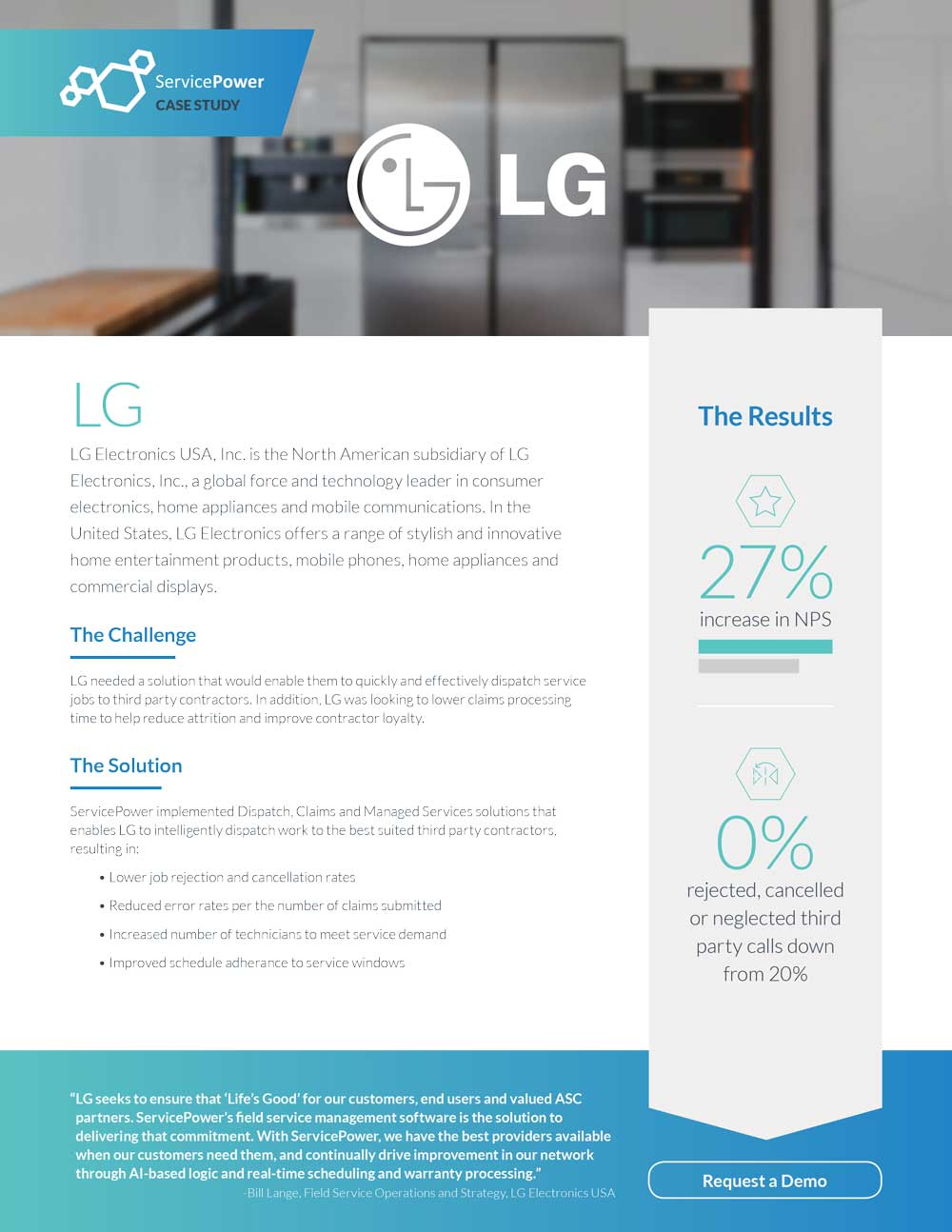 LG Increases NPS Score