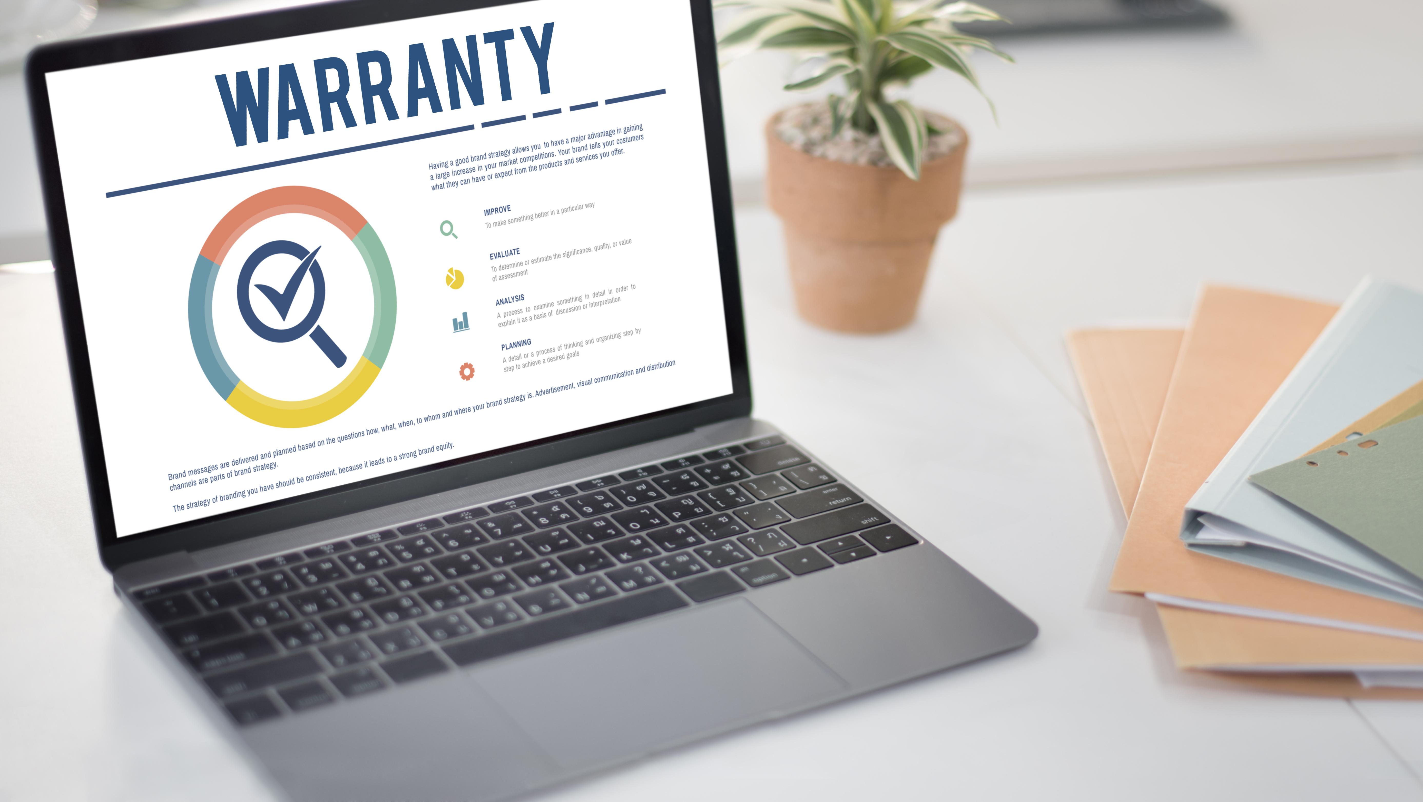 Warranty management software