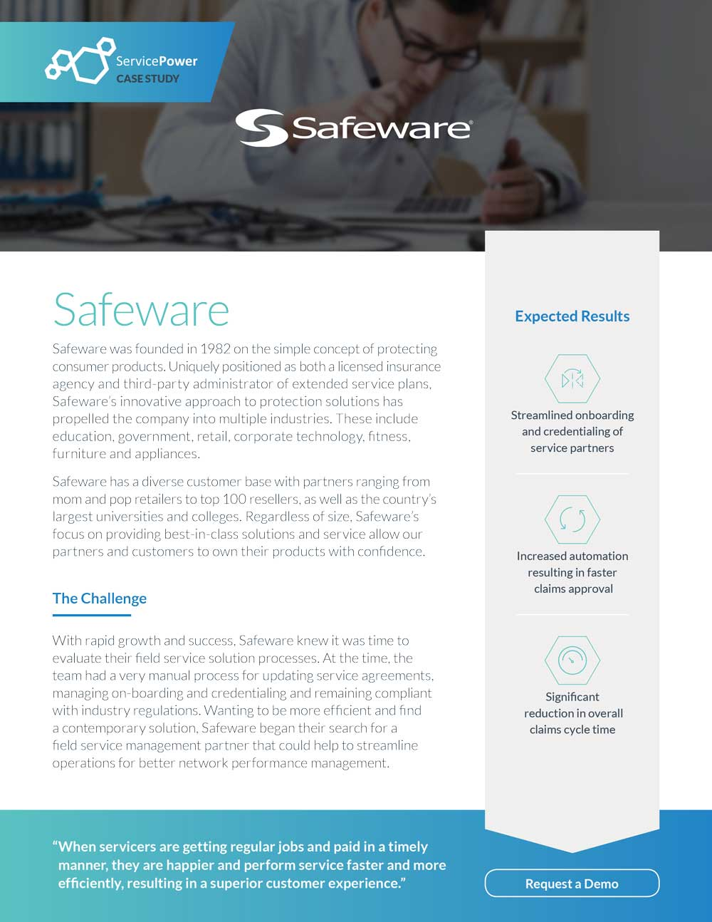 Safeware Utilizes Onboarding and Credentialing