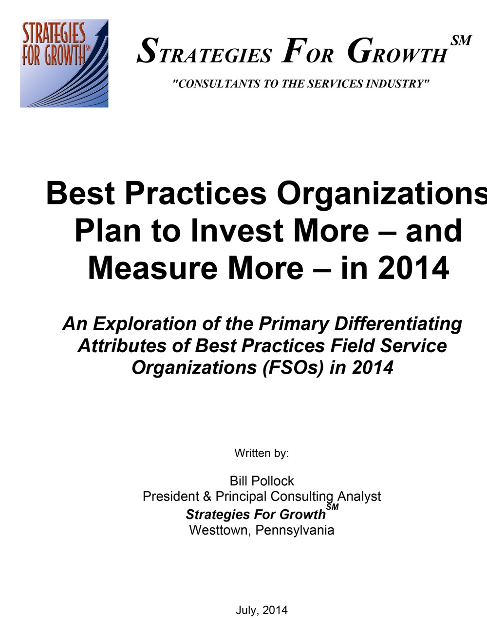 Free Whitepaper: Best Practices FSOs Invest More and Measure More in 2014
