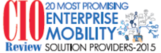 Named CIO Review's 20 Most Promising Enterprise Mobility Solution Providers 2015