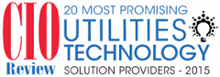 Named to CIO Review's 20 Most Promising Utilities Technology Solution Providers 2015