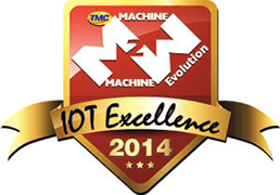 2014 M2M Evolution IoT Excellence Award by TMC & Crossfire Media