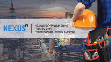 NEXUS FS Product Demonstration Video